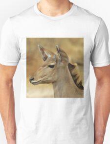 Kudu Bull Calf - Innocent Beauty Unisex T-Shirt