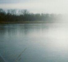 Frozen Lake by tmemmott