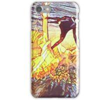 Sun Reflection off the Surfboard iPhone Case/Skin