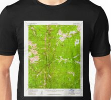 USGS TOPO Map California CA Kern Peak 297883 1956 62500 geo Unisex T-Shirt