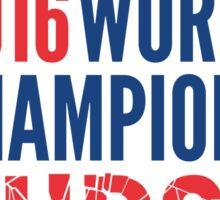 Cubs 2016 World Champions - Curse Broken Sticker