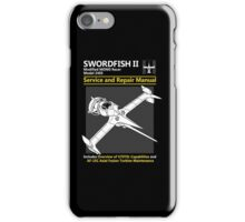 Swordfish Service and Repair Manual iPhone Case/Skin