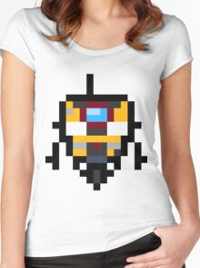 Pixel Claptrap Women's Fitted Scoop T-Shirt