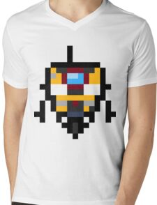 Pixel Claptrap Mens V-Neck T-Shirt
