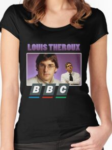 Louis Theroux Best Design Women's Fitted Scoop T-Shirt