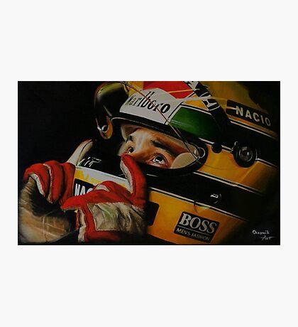 Legend Ayrton Senna Photographic Print