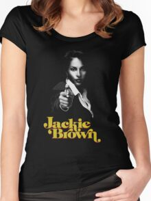 JACKIE BROWN -QUENTIN TARANTINO- Women's Fitted Scoop T-Shirt