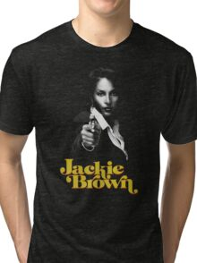 JACKIE BROWN -QUENTIN TARANTINO- Tri-blend T-Shirt