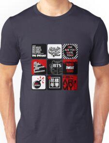 BTS Sticker/Pattern Unisex T-Shirt