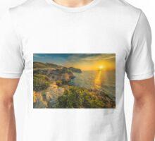Sunrise at Cala Fonda  Unisex T-Shirt