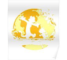 Calvin&Hobbes funny T-shirt Poster