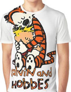 Calvin&Hobbes funny T-shirt Graphic T-Shirt
