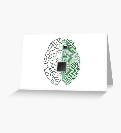 Neuromorphic Computing Greeting Card