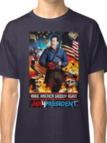 ash for president  Classic T-Shirt