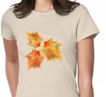 Autumn Love Womens Fitted T-Shirt