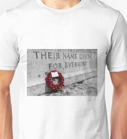 War Memorial Unisex T-Shirt