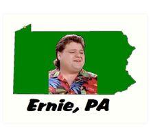 Ernie, PA Art Print