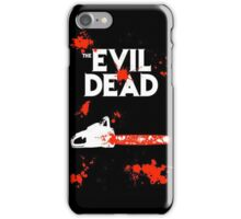 chainsaw evil dead  iPhone Case/Skin