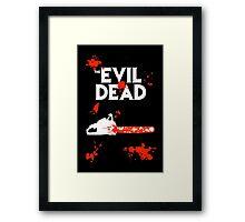 chainsaw evil dead  Framed Print