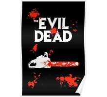 chainsaw evil dead  Poster