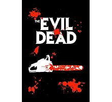 chainsaw evil dead  Photographic Print