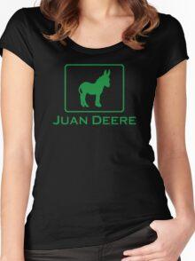 Juan Deere Women's Fitted Scoop T-Shirt