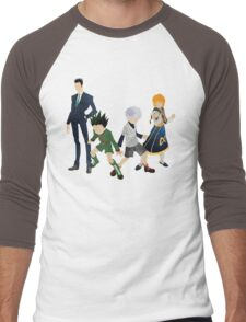 Protagonists - Hunter x Hunter  Men's Baseball ¾ T-Shirt