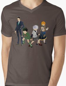 Hunter x Hunter Protagonists Mens V-Neck T-Shirt