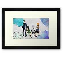 Hunter x Hunter Protagonists Framed Print