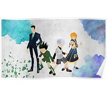 Hunter x Hunter Protagonists Poster