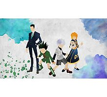 Hunter x Hunter Protagonists Photographic Print