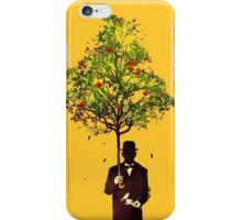 The ethical gentleman yellow iPhone Case/Skin