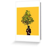 The ethical gentleman yellow Greeting Card