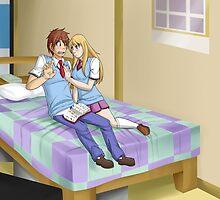 Mashiro and Sorata by KumoriDragon