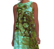 20160929 green oblivion no. 4 A-Line Dress