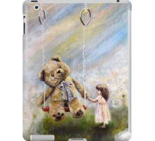 Bereable lightness of being , teddy bear iPad Case/Skin