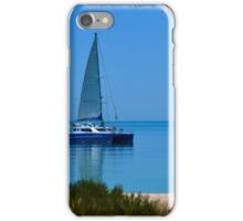 Sailing at Monkey Mia iPhone Case/Skin