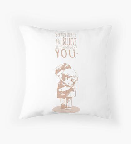 Undead boyfriends Throw Pillow