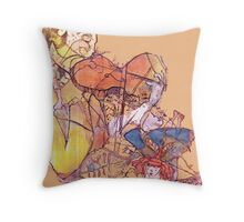 A Touch of Fairy and Music Magic  Throw Pillow