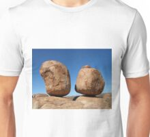 Precariously Poised - Devils Marbles, Northern Territory Unisex T-Shirt