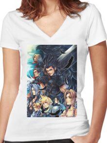 Zack Team Women's Fitted V-Neck T-Shirt