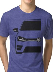 VW MK7 R Black Tri-blend T-Shirt