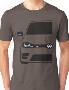 VW MK7 R Black T-Shirt