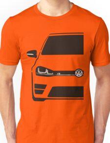 VW MK7 R Black Unisex T-Shirt