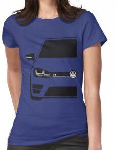 VW MK7 R Black Womens Fitted T-Shirt