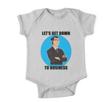Let's Get Down To Business One Piece - Short Sleeve
