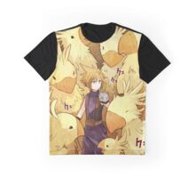 Cloud & Chocobo Graphic T-Shirt