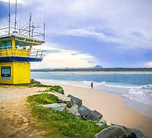 Noosa coast guard by Robert Munden