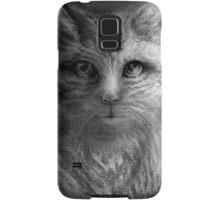 CIRCLE ART - CAT WALKS ON WIRE Samsung Galaxy Case/Skin