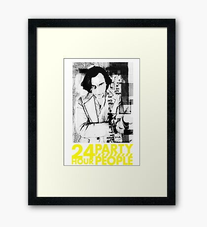 24 HOUR PARTY PEOPLE -MICHAEL WINTERBOTTOM- Framed Print